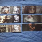 WHERE THE WILD THINGS ARE BOOKMARK set of 6 movie PROMO