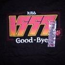 KISS SHIRT Kiss 1999 Good-bye millenium hot topic XL PROMO