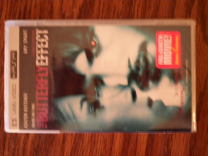 PSP The Butterfly Effect UMD VIDEO movie ashton kutcher SEALED