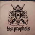 LOSTPROPHETS sew-on PATCH gorilla logo canvas big lost prophets IMPORT SALE