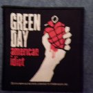 GREEN DAY sew-on PATCH American Idiot punk import NEW