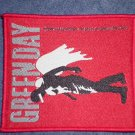 GREEN DAY sew-on PATCH angel red punk import NEW