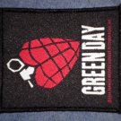 GREEN DAY sew-on PATCH heart grenade logo punk import NEW