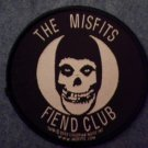 MISFITS sew-on PATCH Fiend Club round danzig import NEW