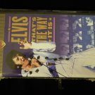 VHS ELVIS PRESLEY That's The Way It Is special edition SEALED