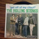 45 THE ROLLING STONES Get Off Of My Cloud b/w I'm Free vinyl record W/PICTURE SLEEVE