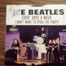 45 THE BEATLES I Don't Want To Spoil The Party b/w Eight Days A Week vinyl record W/PICTURE SLEEVE