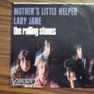 45 THE ROLLING STONES Mother's Little Helper b/w Lady Jane vinyl record W/PICTURE SLEEVE