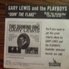45 GARY LEWIS AND THE PLAYBOYS Doin The Flake kellogg's corn vintage vinyl record