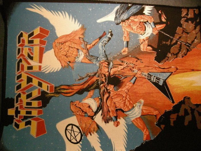 STRYPER BACKPATCH To Hell With the Devil patch VINTAGE