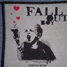 FALL OUT BOY sew-on PATCH finger logo import NEW