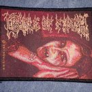 CRADLE OF FILTH sew-on PATCH vampire cof IMPORT