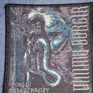 DIMMU BORGIR sew-on PATCH World Misanthropy IMPORT
