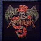METALLICA sew-on PATCH creeping death demon IMPORT
