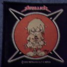METALLICA sew-on PATCH bad kid IMPORT