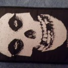 MISFITS sew-on PATCH big skull danzig import NEW