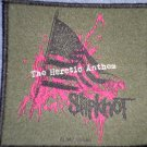 SLIPKNOT sew-on PATCH The Heretic Album Flag import NEW
