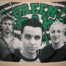 GREEN DAY POSTER FLAG group pic fabric tapestry VINTAGE