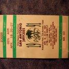 LA SEMANA ALEGRE TICKET STUB 1991 san antonio texas fiesta VINTAGE
