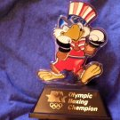SAM THE EAGLE Olympic Boxing Champion stature figure 1980 VINTAGE