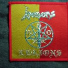 VENOM sew-on PATCH Venoms Legions red/yellow IMPORT