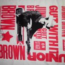 JUNIOR BROWN SHIRT Guit With It on stage XXL 2XL