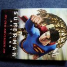 SUPERMAN RETURNS PINBACK BUTTON superman video movie PROMO