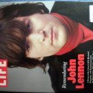 THE BEATLES 2010 Life Magazine Remembering John Lennon cover NEW