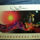 SANTANA TOUR BOOK Supernatural carlos postcards program