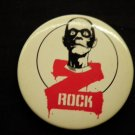 Z ROCK PINBACK BUTTON zombie radio zrock VINTAGE