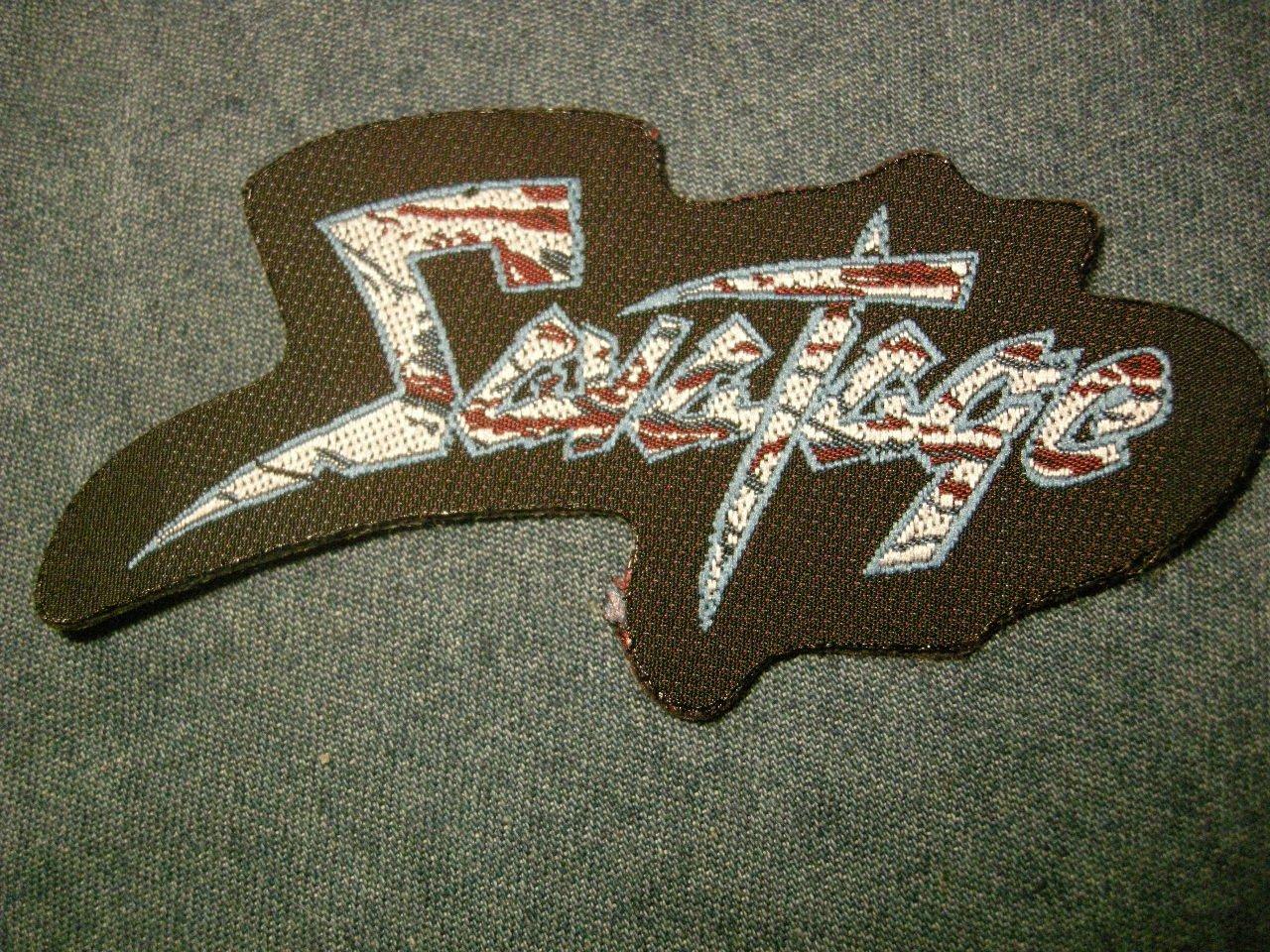 SAVATAGE sew-on PATCH classic logo jon oliva IMPORT