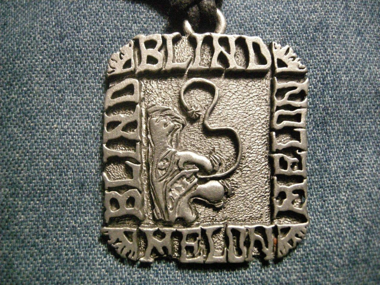 BLIND MELON METAL NECKLACE vintage HTF