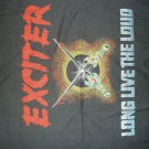 EXCITER SHIRT Long Live The Loud Tour 85 small VINTAGE