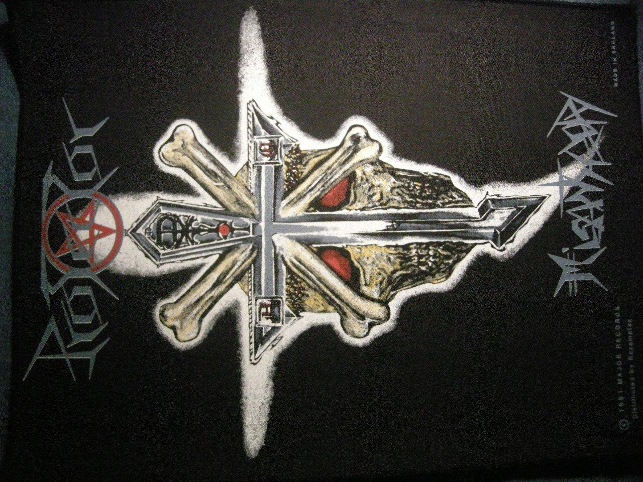 PROTECTOR BACKPATCH Misanthropy metal patch VINTAGE
