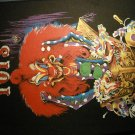 DANGEROUS TOYS BACKPATCH clown album art patch IMPORT