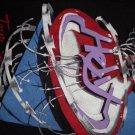 HELIX SHIRT Tour 1984 guitar M VINTAGE