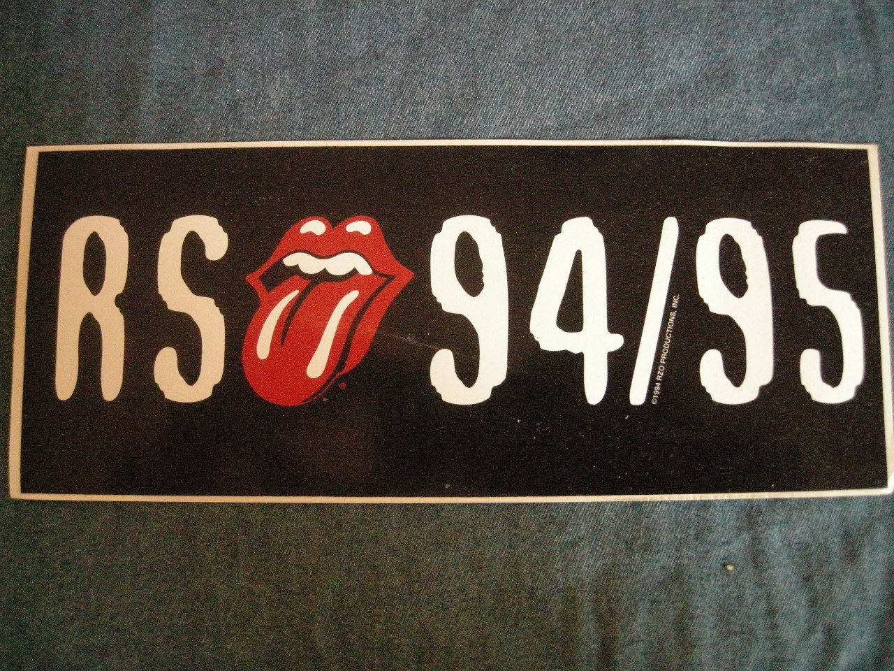 STONE TEMPLE PILOTS STICKER color band pic stp RS HOLD