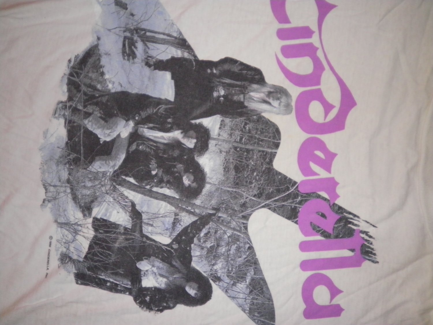 CINDERELLA SHIRT Long Cold Winter Tour 1988-89 2XL XXL VINTAGE SALE