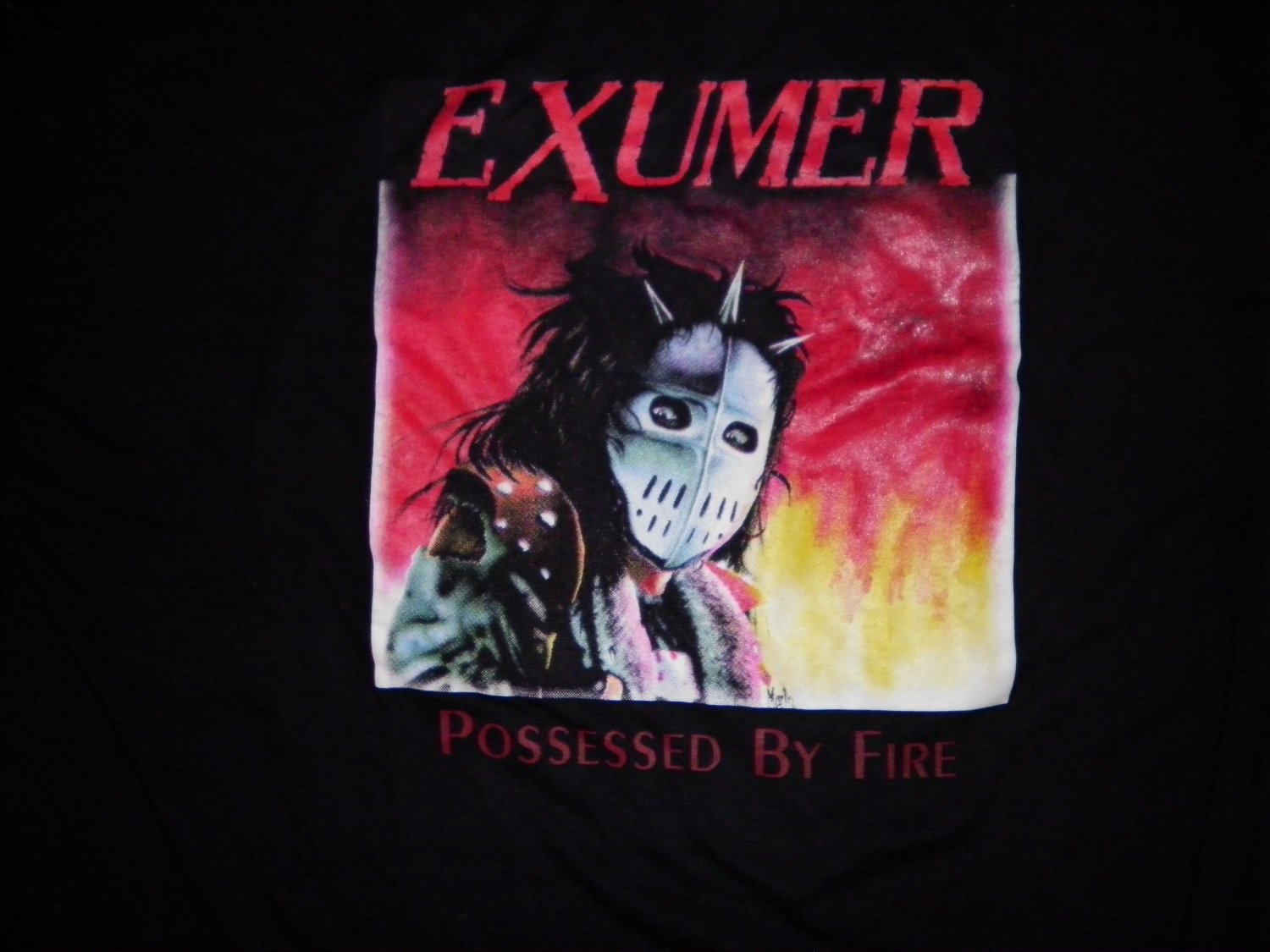 EXUMER SHIRT Possessed By Fire metal XL SCARCE
