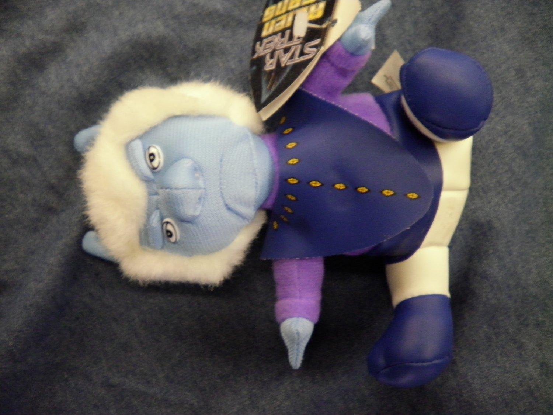 STAR TREK ALIEN BEANS Andorian beanie baby toy NEW