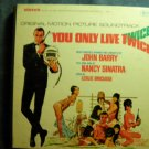 JAMES BOND 4 TRACK you only live twice soundtrack nancy sinatra reel to ampex 007 VINTAGE