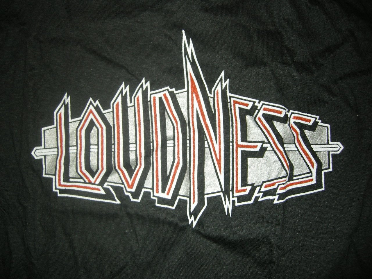 LOUDNESS SHIRT Thunder In The East Tour In The West 1985 XL VINTAGE