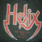 HELIX SHIRT Ain't No High Like Rock N Roll longsleeve sweatshirt L LS VINTAGE 80s