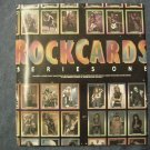 ROCKCARDS POSTER 1991 trading cards heavy metal PROMO