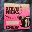 STEVIE NICKS BACKSTAGE PASS Whole Lota Trouble Tour fleetwood mac crew bsp