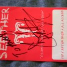 SEETHER BACKSTAGE PASS Diplomatic Immunity Tour 03-04 bsp shaun morgan AUTOGRAPHED