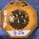 STAIND BACKSTAGE PASS The Illusion Of Progress Tour vip bsp