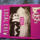 BUSH BACKSTAGE PASS Razorblade Suitcase business as usual local crew purple bsp
