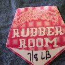 METALLICA BACKSTAGE PASS Rubber Room summer sanitarium bsp
