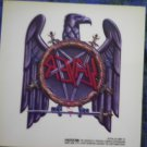 SLAYER DECAL not STICKER eagle logo VINTAGE